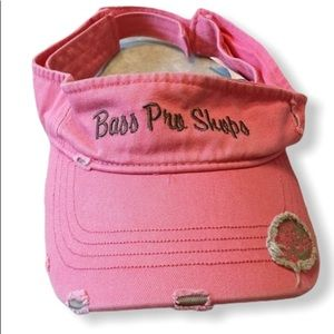 Bass Pro Shops Visor Pink One Size Fits All